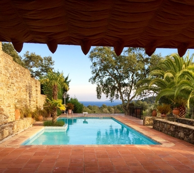 Holiday Villa Rental with Private Pool, Near Bormes les Mimosas, Provence, France