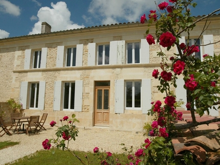 Beautiful Farmhouse Rental with Pool, Close to Beach, Nr Gemozac, France - LES ROSIERS