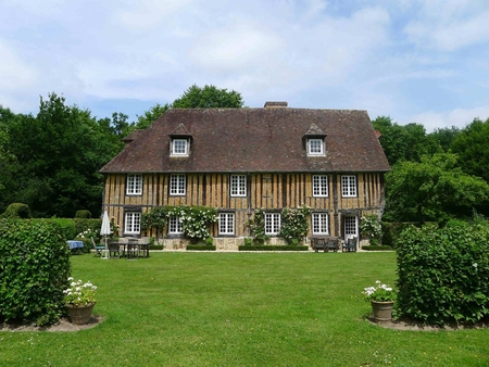 15th Century Normandy Manor House with Large Private Pool, Eure, France