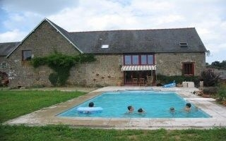 Luxury Holiday Gite with Heated Pool, Manche, Normandy, France -  LA SAUVAGERIE