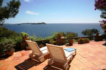 Hyeres Holiday Villa, South of France, Var - Beautiful Sea Views