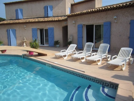 Very Quiet Holiday Rental Villa with Private Pool, Six fours les plages, France