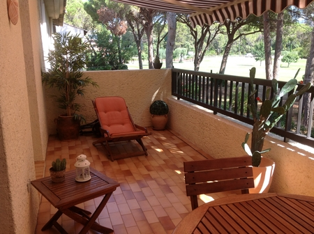 Holiday Apartment with Views of Golf of Valescure, Saint-Raphaël, Var,Provence, France