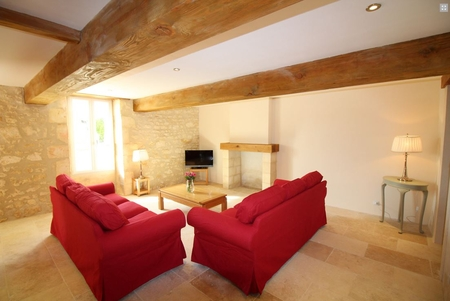 Holiday Cottages in Charente Maritime, Between St Andre de Lidon and Cozes, France - GLYCINE
