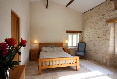Holiday Cottages in Charente Maritime, Between St Andre de Lidon and Cozes, France - MIMOSA