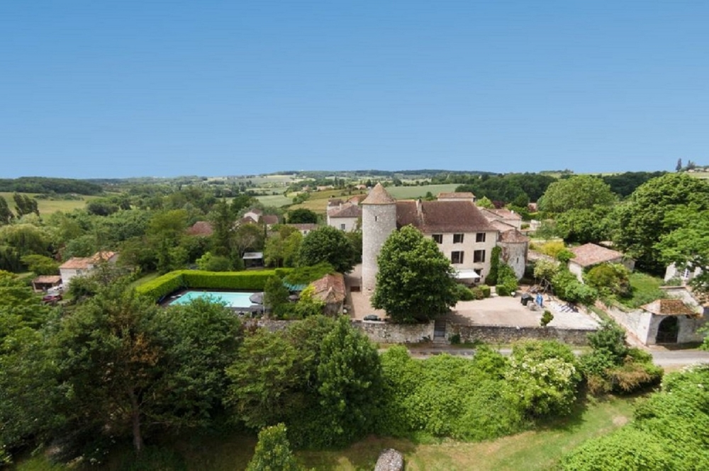 Huge Manor House with Private Swimming Pool and Tennis Court, Near Biron, Dordogne - 23 Hectares