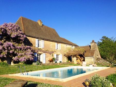 Farmhouse Holiday Rental, in Les Arques, Lot, France, Bel Arbre