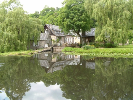 3 Beautiful Waterside Holiday Gites Near Campeaux in Calvados, Normandy, France