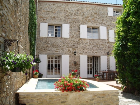 3 Bedroom 11th Century Stone House with Private Pool  in Languedoc, Olonzac, France