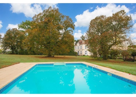 Chateau with Beautiful Private Grounds and Swimming Pool, Bergerac, France - Chateau De La Cheine