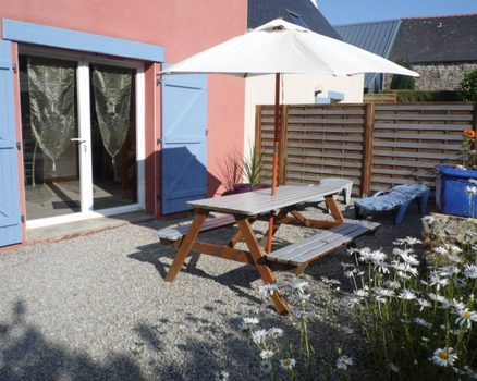 2 Bedroom Holiday Gite in Telgruc-sur-Mer, Brittany, France - Gite Ty Ar Mor