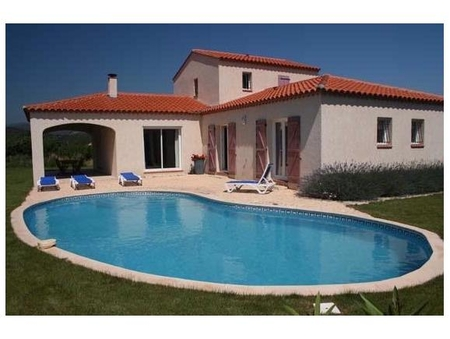 Stunning Detached 4 Bedroom Villa with Large Swimming and Scenic Views , Vinca, France