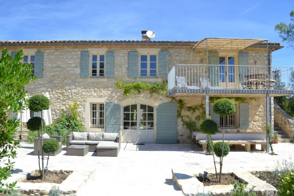 Large 6 Bedroom Farmhouse in a Charming Quiet Hamlet Close to Uzes, Languedoc, France