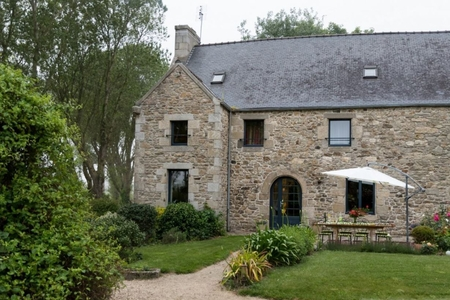 Spacious Holiday Gite Rental Near Saint-Pol-de-Leon and Roscoff, Brittany, France