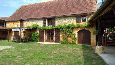 Charming 2 Bedroom Restored Stone Barn in the Dordogne, Lol-Bas, France - Les Cordonniers