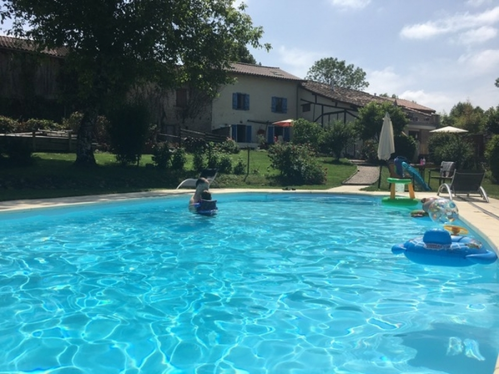 Rural Holiday Gite with Pool in Tourtouse, Ariege, Midi Pyrenees