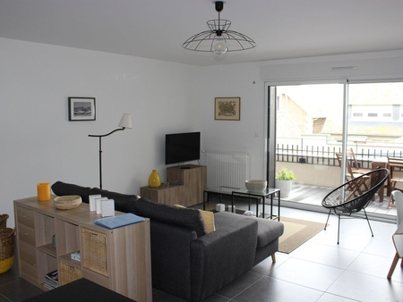 Nice New 2 Bedroom Apartment with sea view & Private Beach access, Closed Garage, Saint Malo