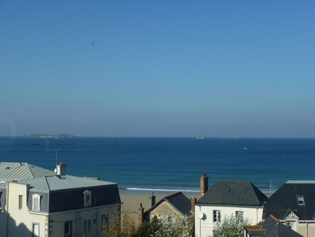 Amazing 2 Bedroom, Sea View Apartment, 80m from the Beach, Saint Malo,  France
