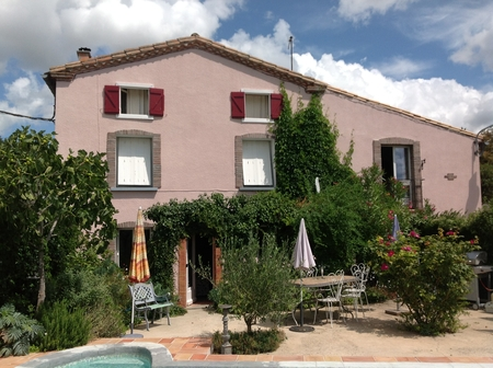 Beautiful House in La Force, West of Carcassonne, France - South Facing terrace and Pool