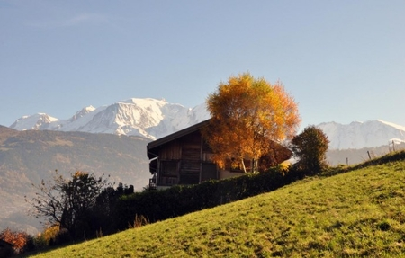 Luxury Chalet (180m2 - 4 bedrooms ) with sauna near Combloux, Saint Gervais and Chamonix