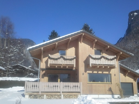 New Samoens Holiday Chalet Rental, Superb Views, Close to Centre and Ski Lift