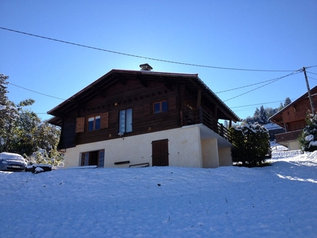 Beautiful Chalet with Heated Spa / Jacuzzi In Saint Gervais / Megeve