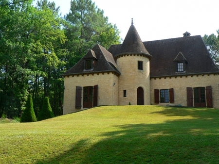 Beautiful Dordogne house with pool in outstanding location near Chateau