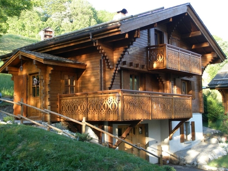 Superb Le Grand Bornand Chalet Rental with Great Views - LUPINS