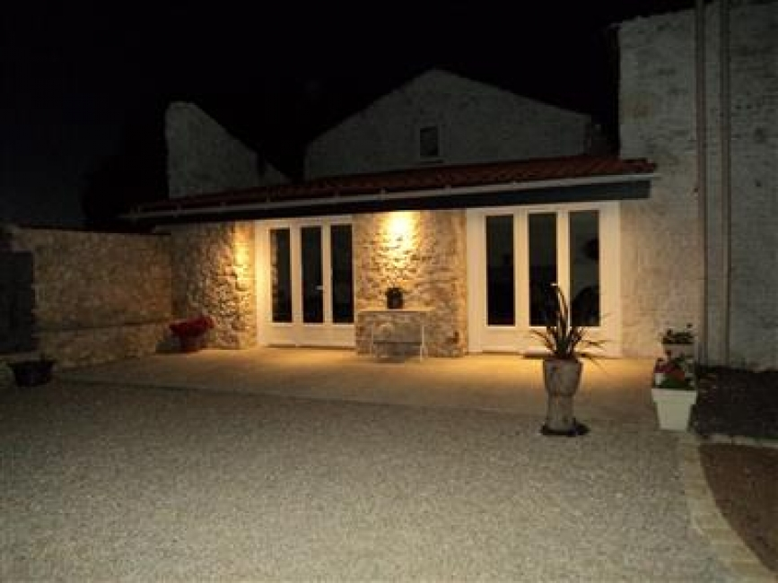 Newly completed Gite Rental in Petosse, near Fontenay le Comte, Vendee