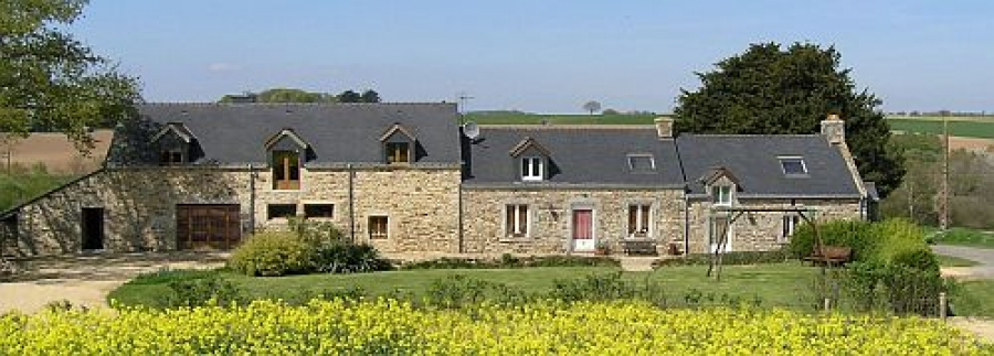 Beautiful 2 Bedroom Holiday Cottage in La Chapelle Neuve, Southern Brittany, Very Peaceful