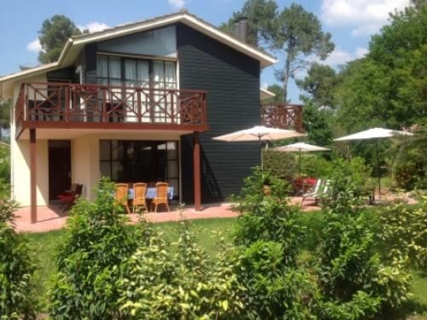 Three bedroom villa with access to shared heated pool on a holiday park with a difference
