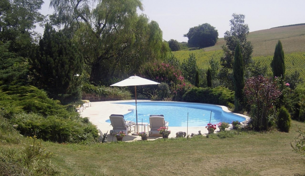 Charming 3 Bedroom Gascony Holiday Farmhouse Near Eauze, Gers, Midi Pyrenees, France - Tarrit de Bas