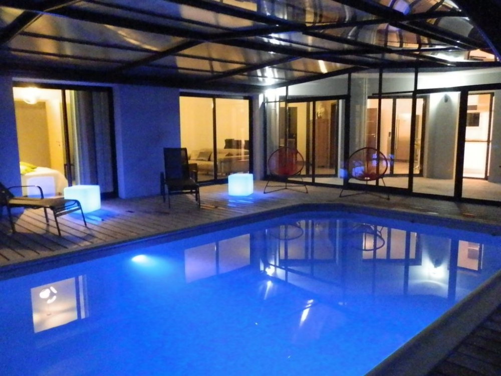 Fabulous Villa with Heated Indoor Pool, Sauna and Spa in Doëlan, Clohars-Carnoët, France
