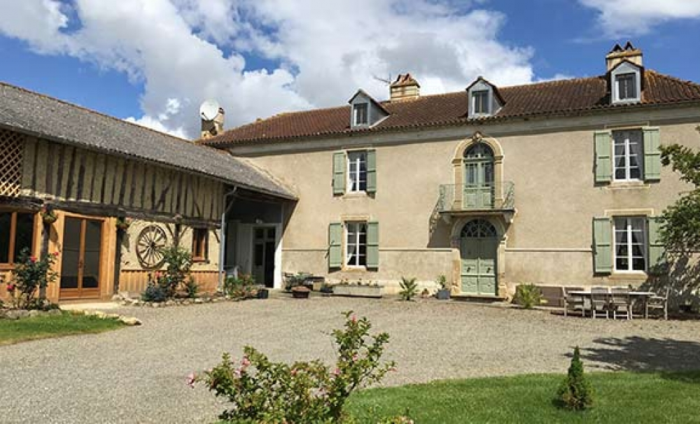 Very handsome, well-proportioned and well-equipped Maison de Maitre - Domaine de Pignoulet - a Simply Gascony property - Available this winter
