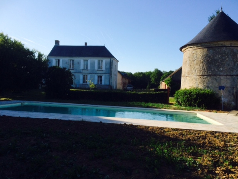 Charming XVIII manor, in the middle of Chateaux de la Loire , 1 km from the river