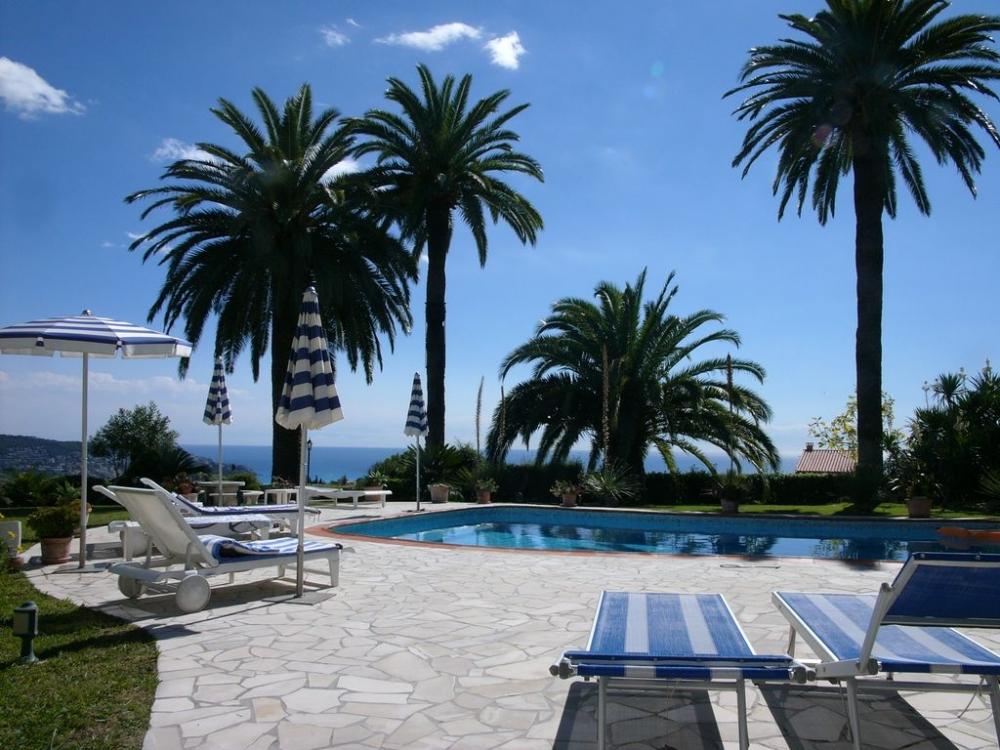 Stunning Holiday Villa Rental in Saint Pierre de Féric, Nice, Provence - Solar Heated Pool, Outdoor Jacuzzi