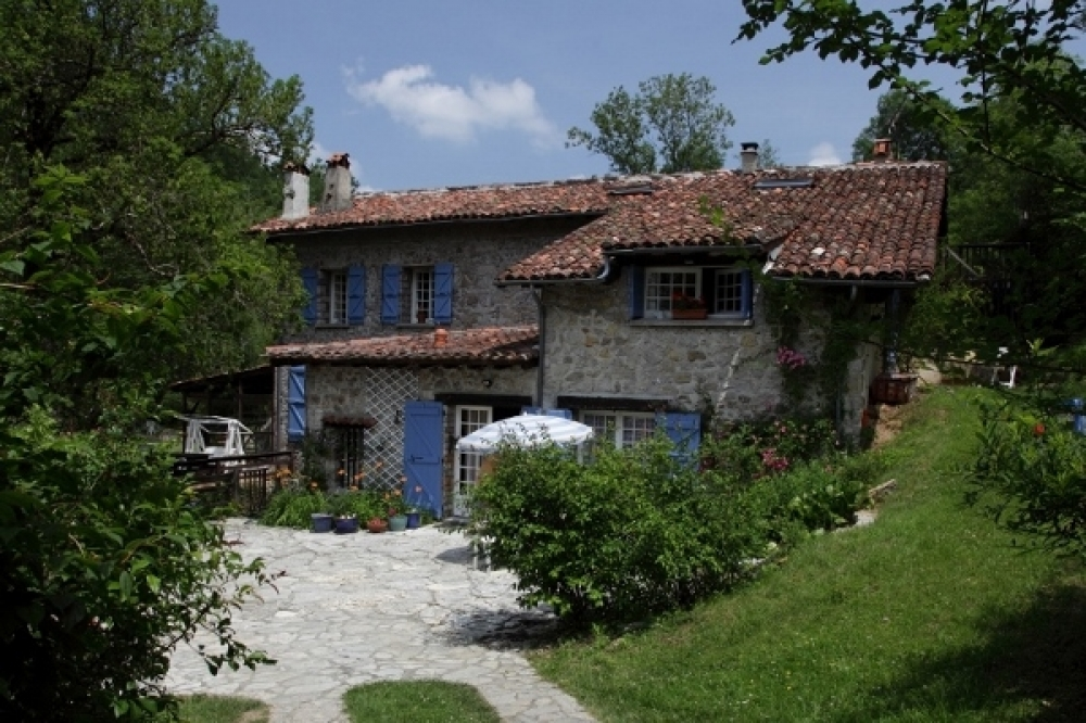 Holiday House in South west France, Ariege, the French Pyrenees - Le Moulin De La Materette And Grange