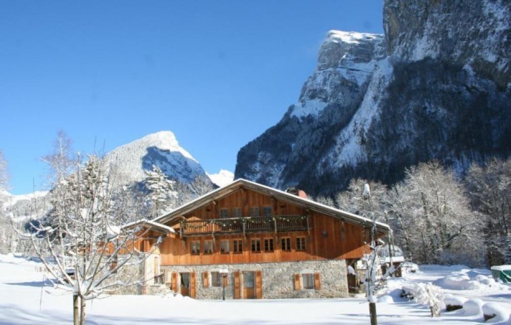 Superb Ski Chalet Near Samoens Centre, Grand Massif, Haute Savoie - Gite La Ferme des Fontany
