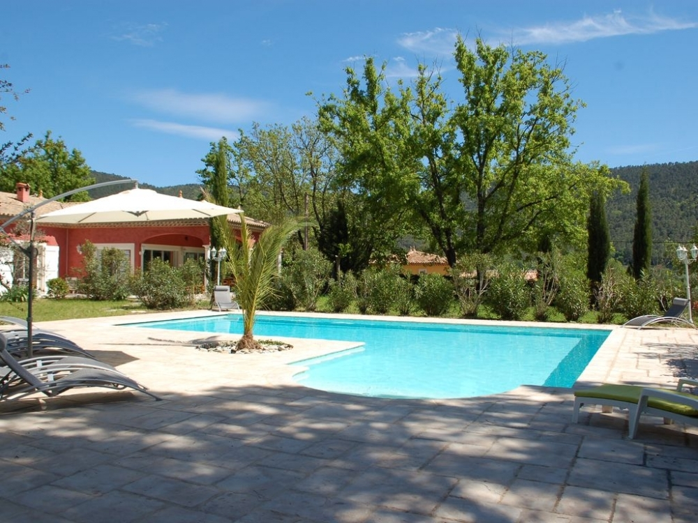 Bargemon Holiday Villa with Private and Spacious Pool, Var, France