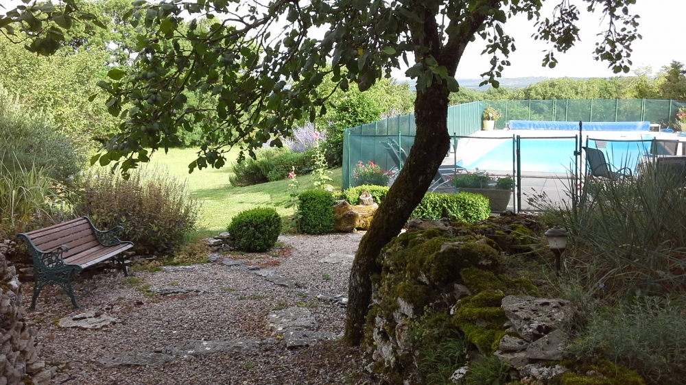 16th Century Stone Farmhouse with Private Pool in the Lot, South of Limousin, France