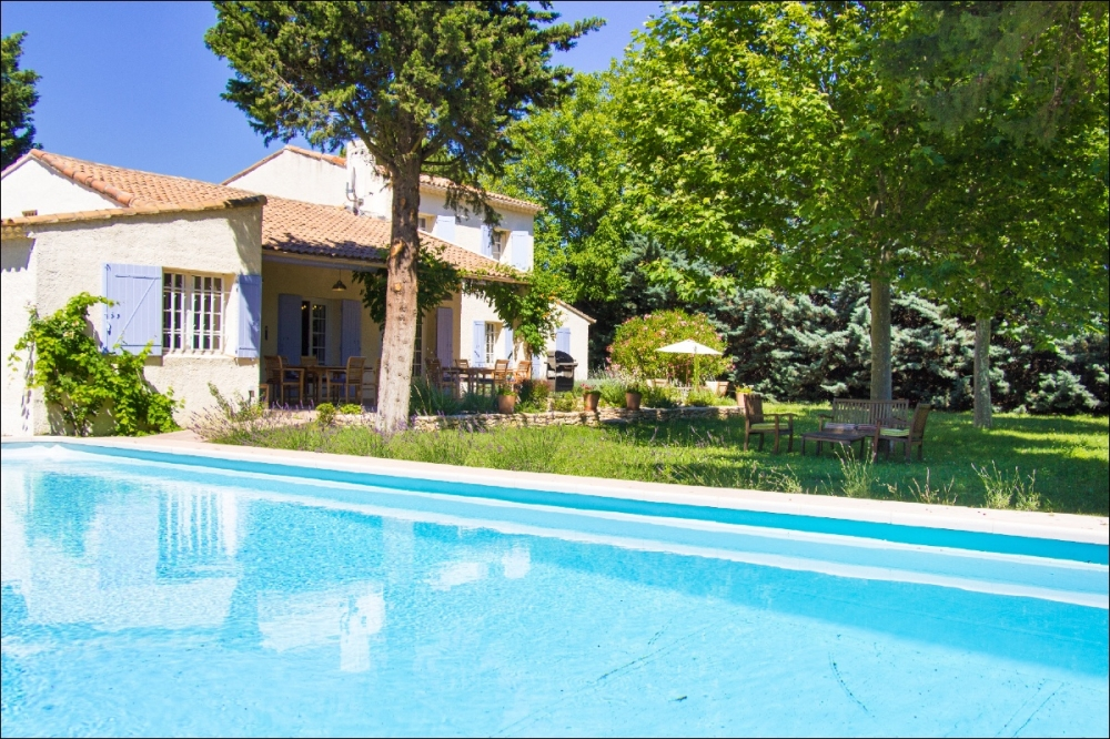 Villa le Murier … A spacious luxury villa with well-established garden …