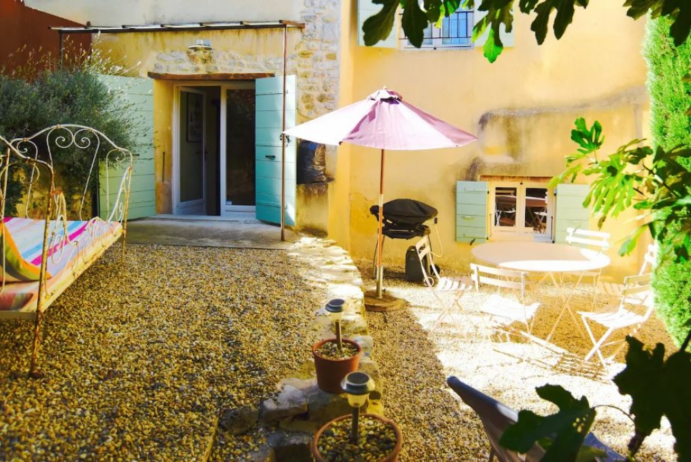 La Tour des Anges - Two bedroom House Rental in Medieval Village Sablet, Provence