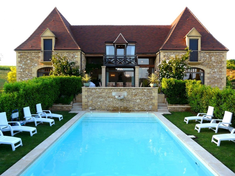 Combe-Claire,  Magnificent House with Private Pool in the Heart of Dordogne, Near Sarlat - Stunning Views