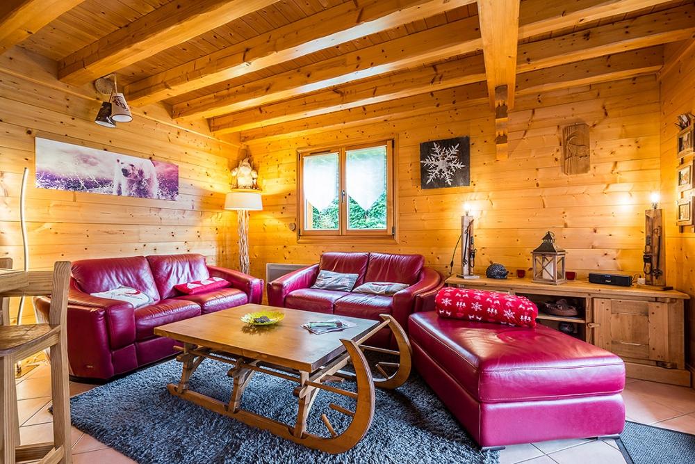 Les Carroz d`Araches Ski Holiday Chalet - Chalet Le Talon Libre