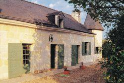19th Century Detached Tuffeau Stone House with heated pool in Maine-et-Loire, France