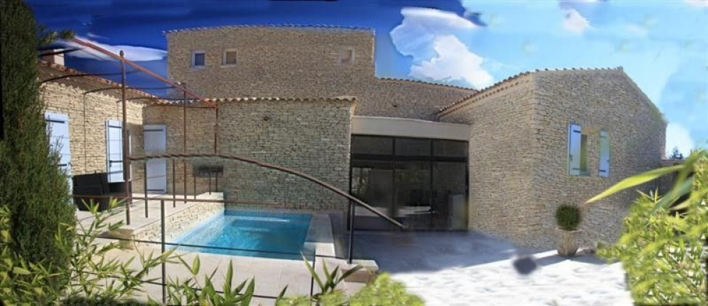 Beautiful and luxurious Provencal Hamlet with Indoor Heated Pool, Jacuzzi, Sauna and Terraces