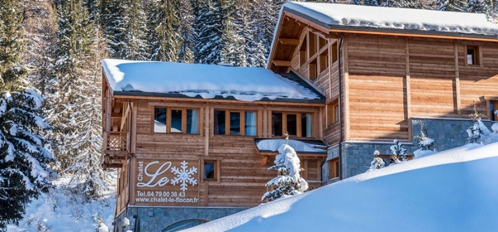 Prestigious and Luxurious La Plagne Chalet - Chalet Le Flocon