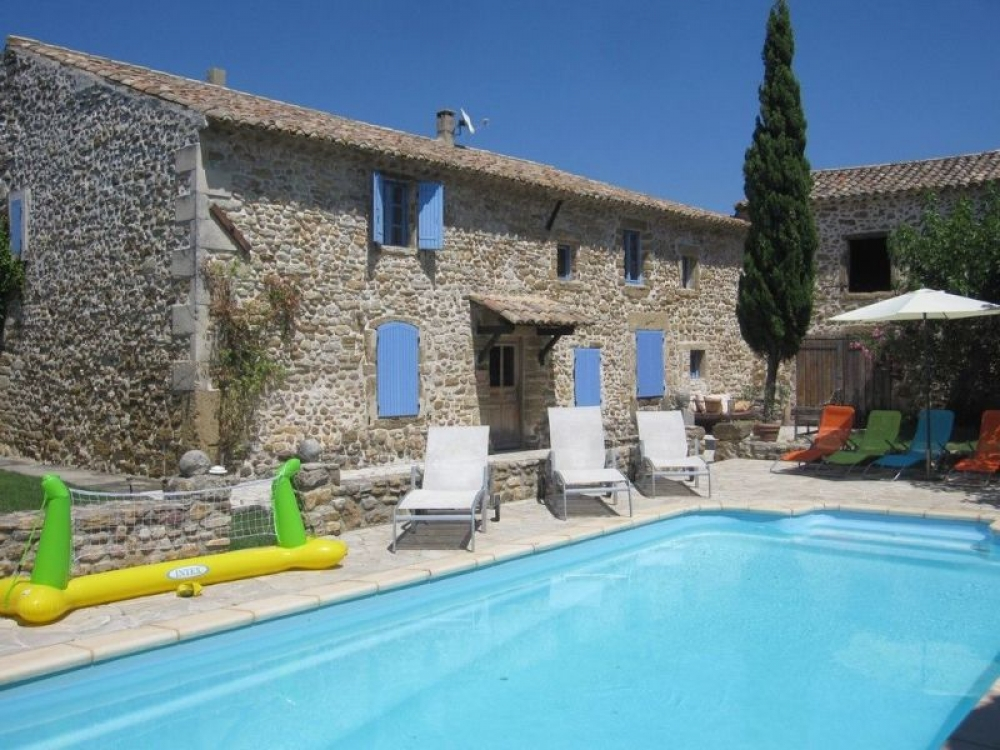 Beautiful Farmhouse With Private Pool in Provence - Suze la Rousse