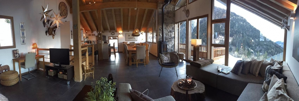 Charming Chalet for Rental in Valfréjus, Maurienne Valley-Savoie, French Alps - La Carline