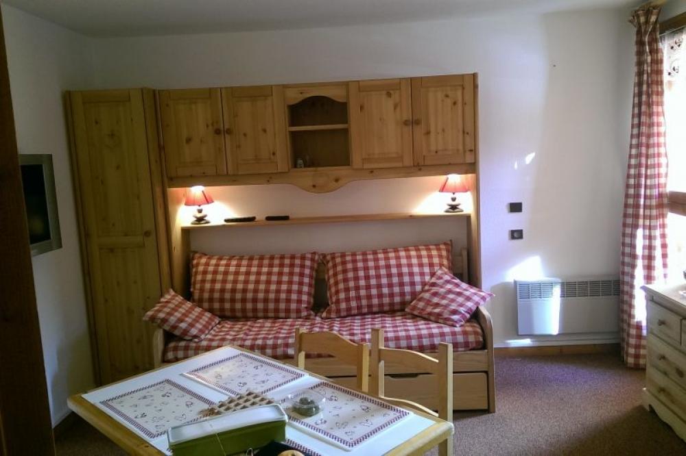 Studio Apartment in Valfrejus, Savoie